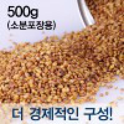 [쓴메밀차] 국내산 타타리메밀차 500g / 볶은쓴메밀차