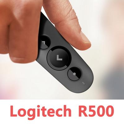 로지텍코리아 R500 무선프리젠터 레이저포인터 PPT 리모컨