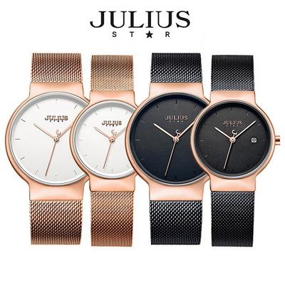 쥴리어스스타 JS009 여성용 메쉬밴드 패션 손목시계 커플시계
