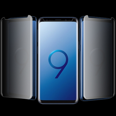 갤럭시S9 S9+ 사생활보호필름 3D풀커버 케이스호환용