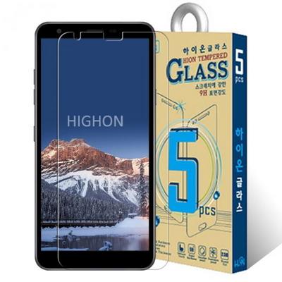 하이온 LG X2 2019 액정보호 강화유리 필름 9H글라스 5매