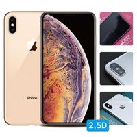 아이폰XS 2.5D 강화유리+풀유광후면+렌즈필름 각1매