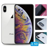 아이폰XS 맥스 2.5D 강화유리+풀유광후면+렌즈필름 각1매