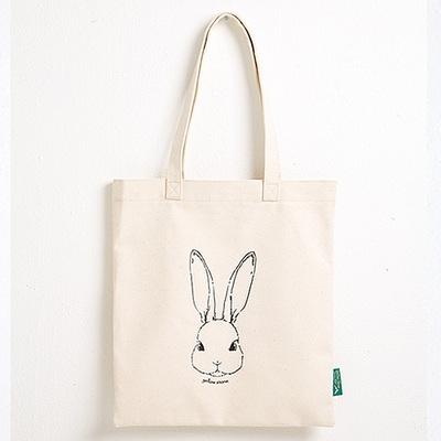 빈티지 에코백 vintage eco bag - YS2015RB 베이지 토끼