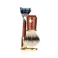 shaving brush SET F6144.6 (Sliver Tip)