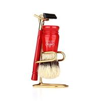 shaving brush SET 1091.W RED