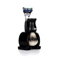 shaving brush SET F6613.17 (Silver Tip)