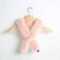 쁘띠 에코 퍼 머플러 - YS8001PK 핑크