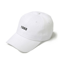볼캡 BALL CAP 1988 - YS7001WH WHITE