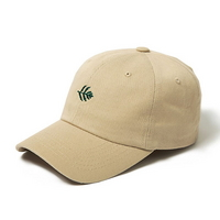 볼캡 BALL CAP leaf - YS7001BE BEIGE