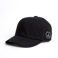 볼캡 BALL CAP PEACE - YS7003BS BLACK