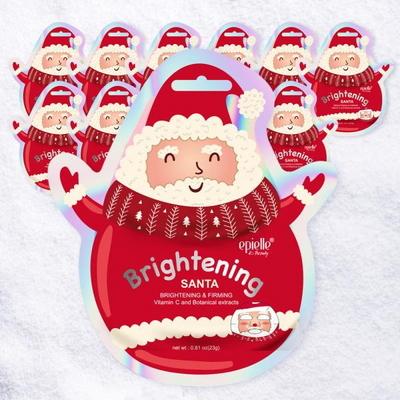 산타 크리스마스 캐릭터 마스크팩 12팩