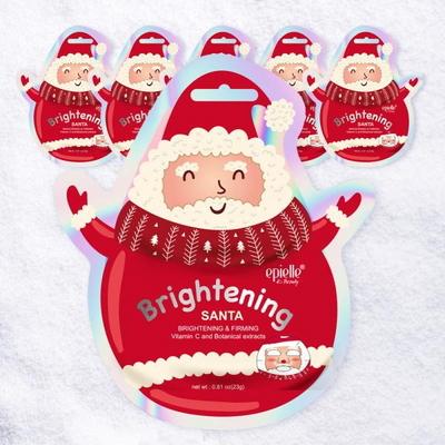 산타 크리스마스 캐릭터 마스크팩 6팩