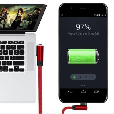 베리어 애플 아이폰 용 케이블 블루 2미터 BE-iB2