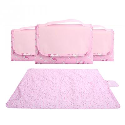 피크닉 매트 돗자리 방수 핑크