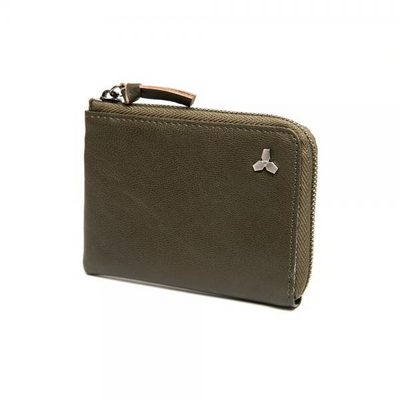 17WTA0202G01DO 트리포드 엣지 지퍼 카드지갑 다크올리브