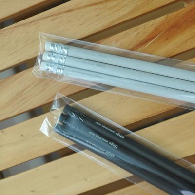 틴지 원형지우개연필 - 3개 1세트