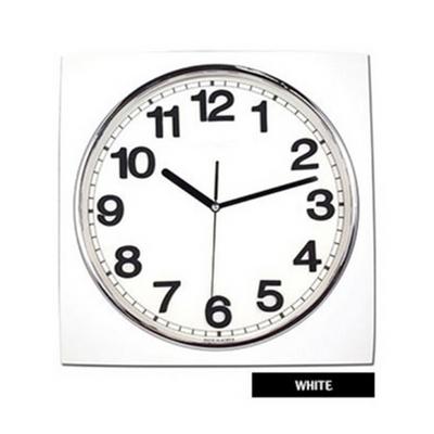 무소음 사각모던 입체벽시계