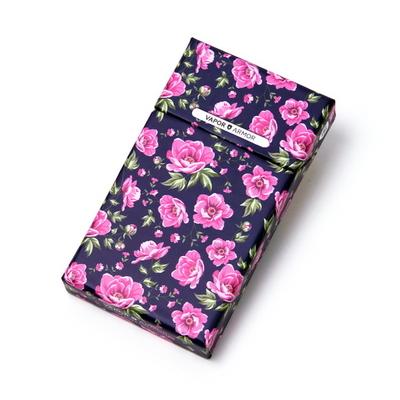프리미엄 담배케이스 핑크로즈 - 일반 슬림형