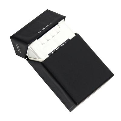 프리미엄 담배케이스 블랙 솔리드  - 일반형