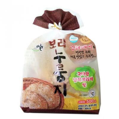 해가원 보리누룽지 500g 국내산보리 식사대용
