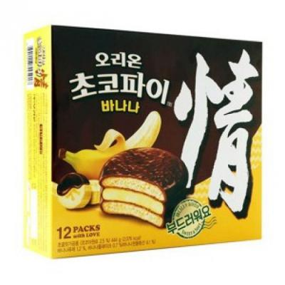 오리)바나나 초코파이(12입) 444g_1개입