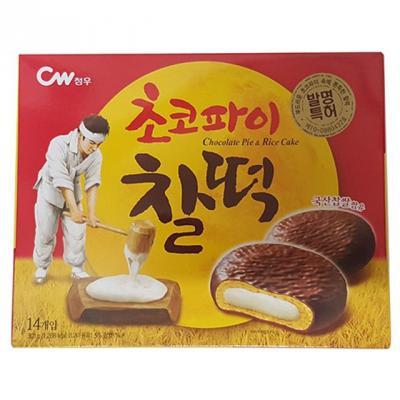 청우)초코파이찰떡-박스(8개입)