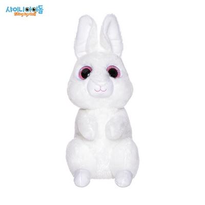 토끼 동물인형 화이트 라지
