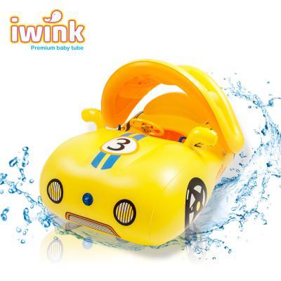 아이윙크 프리미엄 물놀이용 대형 아기 보행기 튜브 스포츠카