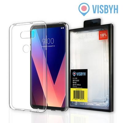 비스비 LG V30 울트라슬림 에어핏 클리어 케이스
