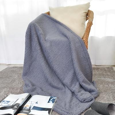 스웨터 극세사블랭킷 블루그레이