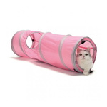 고양이장난감 스포츠펫 캣터널 핑크