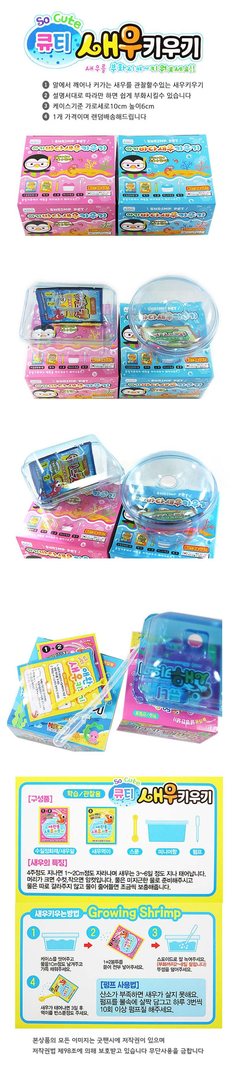 아기바다새우 키우기 - 굿팬시, 2,000원, 아이디어 상품, 아이디어 상품