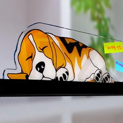 모니터메모보드 가로형(강아지)