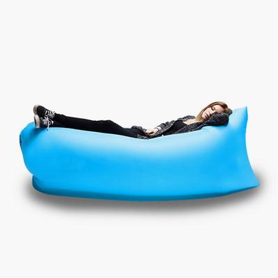 휴대용 캠핑용 여행용 1인용 공기침대 에어베드