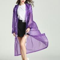 EVA 성인용 남성 여성 방수 레인코트 우비 비옷