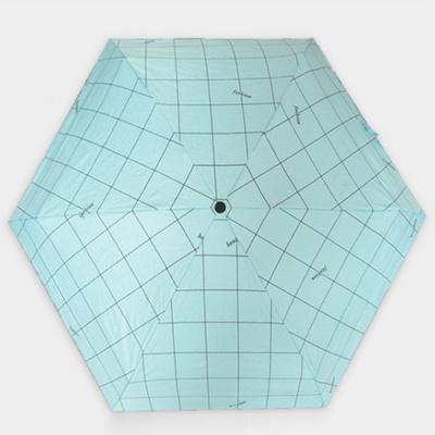 경량 접이식 남성 여성 5단 수동 우산