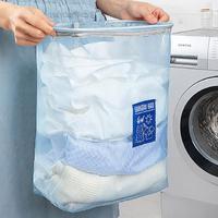통기성이 뛰어난 매쉬 벽걸이 세탁물 빨래 바구니