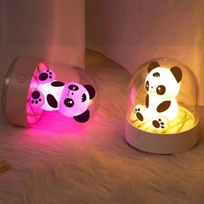 은은한 충전식 무선 LED 미니 곰돌이 캐릭터 무드등