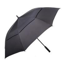 와이드형 큰 골프 장 우산 150cm 대형 블랙 반자동