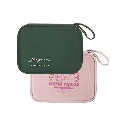 휴대용 반짇고리 바느질 실 바늘 세트 파우치 가방