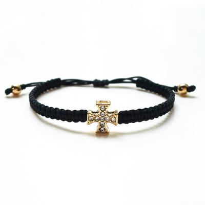 바로크 십자가 매듭팔찌 - 남성용 여성용