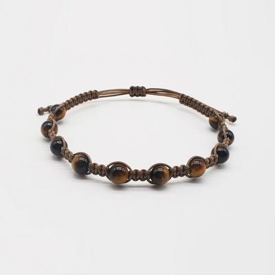 버블 호안석 원석 매듭팔찌 - 남성용 여성용