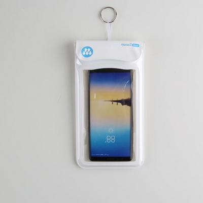 수중터치 다이브 스마트폰 방수팩 D30 화이트 엠팩플러스