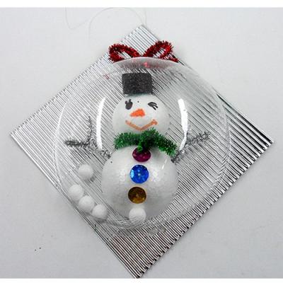 [만들기패키지] 눈사람벽걸이 (5개이상구매) / 소품