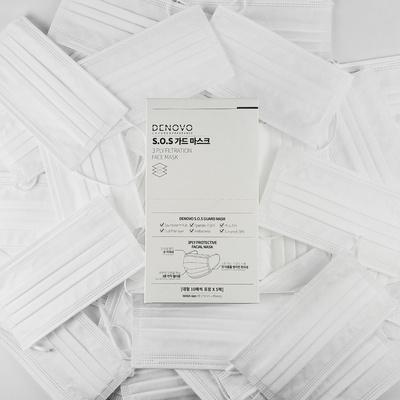 디노보 일회용 50매 3중필터 개별포장 가드마스크