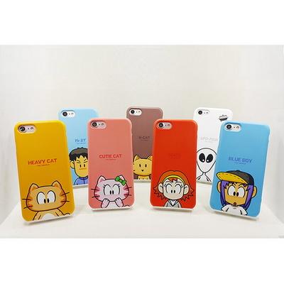 헤비캣과 친구들 스마트폰 하드케이스 -마이네임 시리즈 (아이폰)