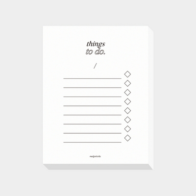things to do ( white )