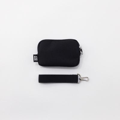 227 ON02 COIN BAG - BLACK