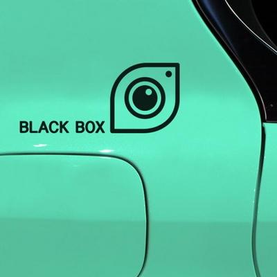 자동차데코 스티커 LMCD-018 블랙박스 뾰족
